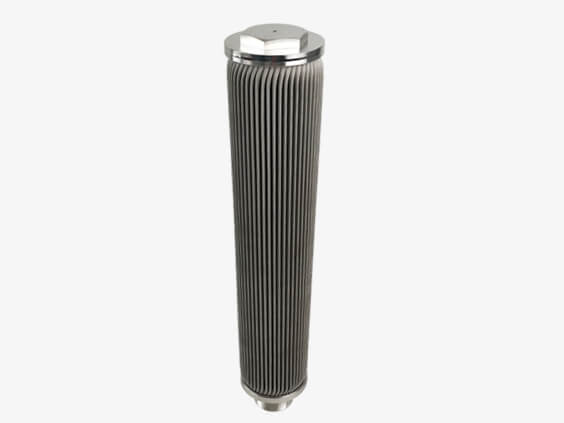 Threaded Interface SS Pleeated Oil Melt Filter