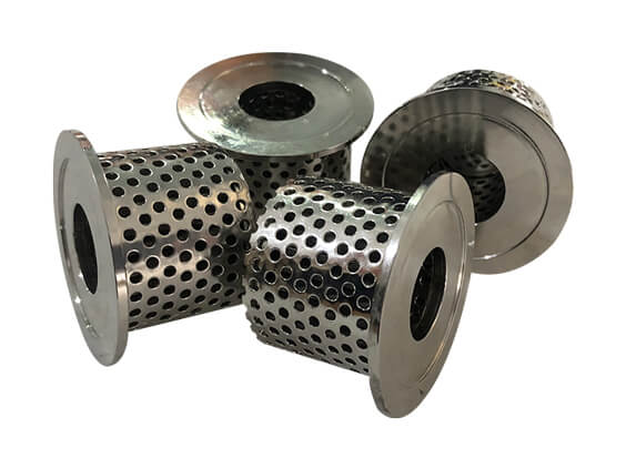 With Flange SS Oil Filters Element